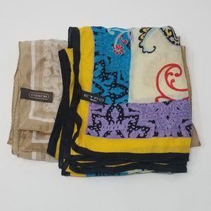 Silk scarf and Shawl
